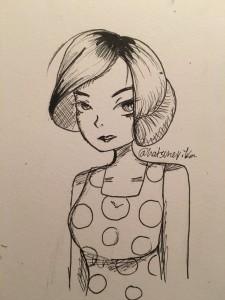 micki drawing